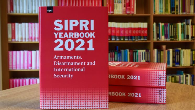 SIPRI Yearbook 2021 cover